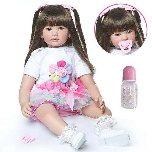 Pinky 24 inch 61cm Lovely Reborn Baby Girl Dolls