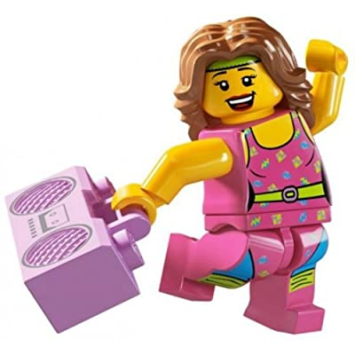 Lego Minifigures Series 5 - Fitness Instructor: Toys & Games
