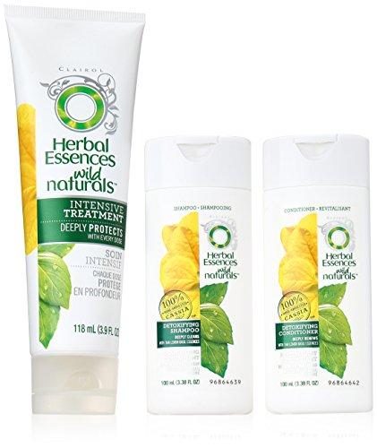 Herbal Essences Wild Naturals Detoxifying  Complete Starter