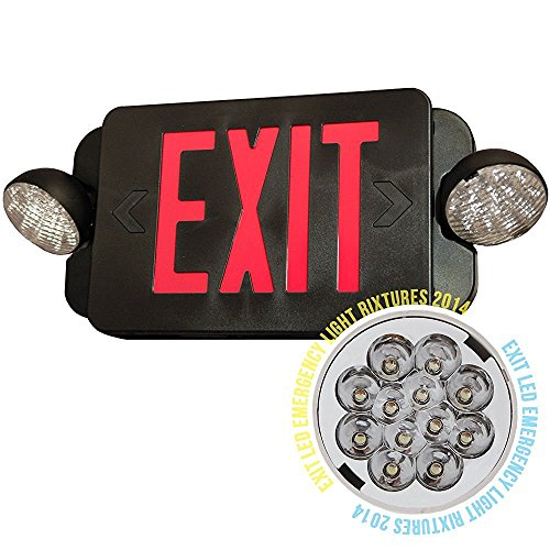 Led Exit Light Combo - 8