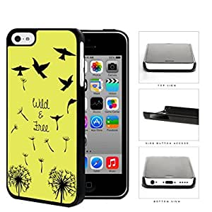 Wild And Free Flying Birds Hard Plastic Snap On Cell Phone Case Apple iPhone 5c