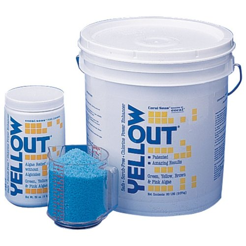 Yellow Out Swimming Pool Chlorine Shock Enhancing Treatment - 2 lbs. by Coral Seas