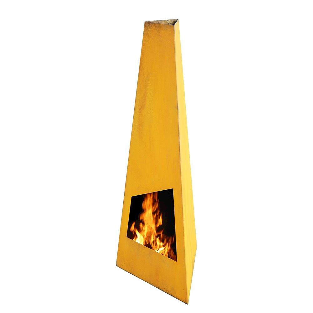 Gartenkamin Terrassen Feuerstelle Rengo Xl Black Kamin 150cm Kamin