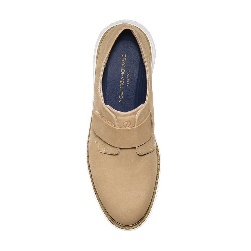 Cole Haan Women's GrandEvOlution Modern Monk 9.5 Iced Coffee-Ivory by Cole Haan (Image #2)