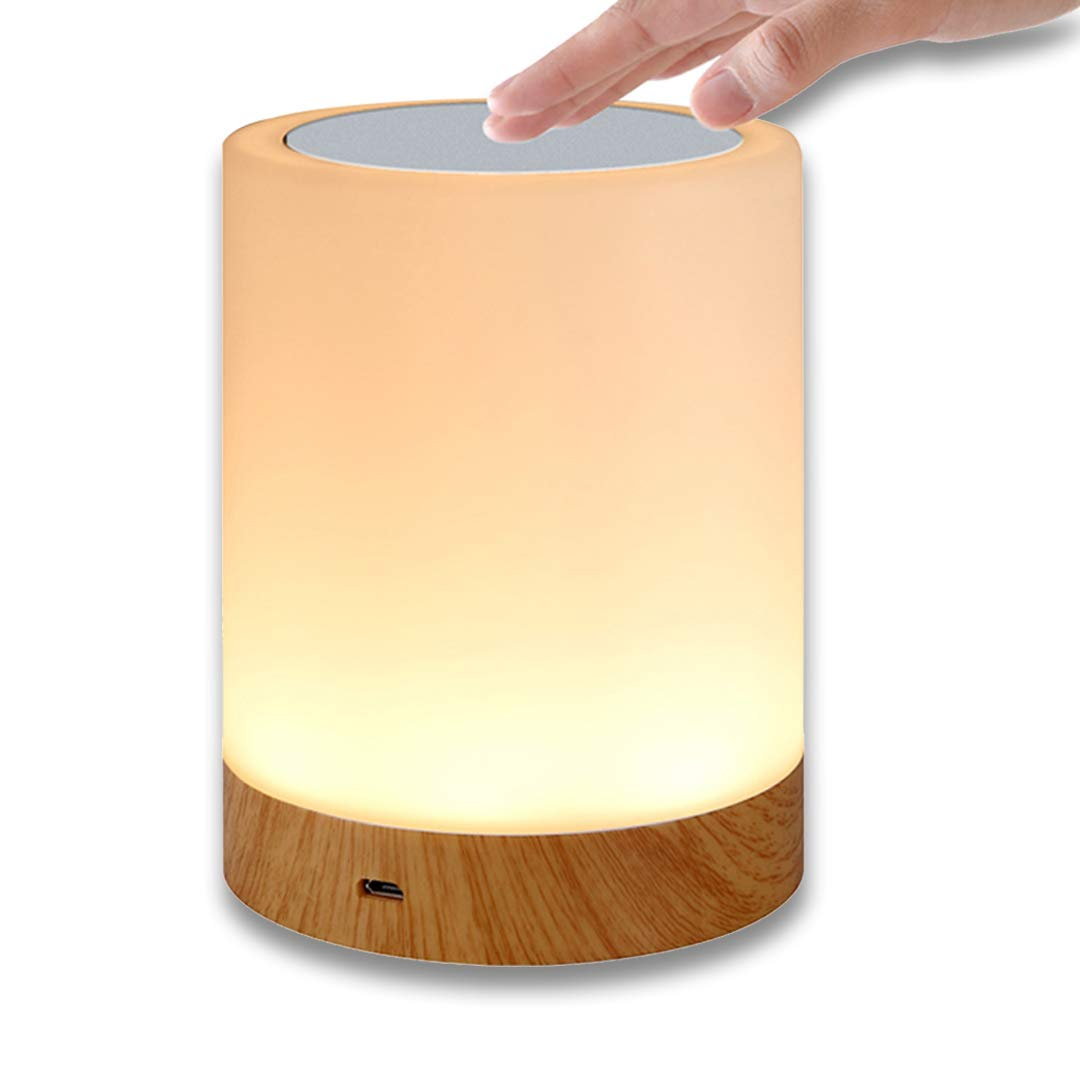 Night Light HEDELE Touch Lamp for Bedrooms Living Room Portable Table Bedside