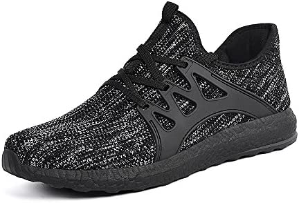 MARSVOVO Men s Sneakers Lightweight Casual Walking Shoes Gym Breathable Mesh Sports Shoes