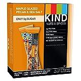 KIND Nuts & Spices, Maple Glazed Pecan & Sea Salt, 1.4 Ounce 12-Count Bars
