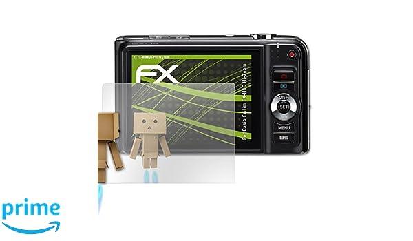 atFoliX FX-Mirror, Casio Exilim EX-H10 Hi-Zoom: Amazon.es: Electrónica