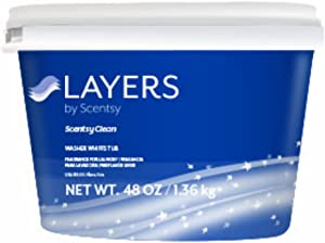 Scentsy Layers Washer Whiffs Tub (Scentsy Clean)