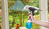 3 in 1 Spray type Cleaning Brush Glass Wiper Window Clean Shave Car Window Cleaner Brush, Random Colour
