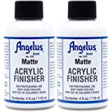 Angelus Brand Acrylic Leather Paint Matte Finisher No. 620 - 4oz - 2 Pack