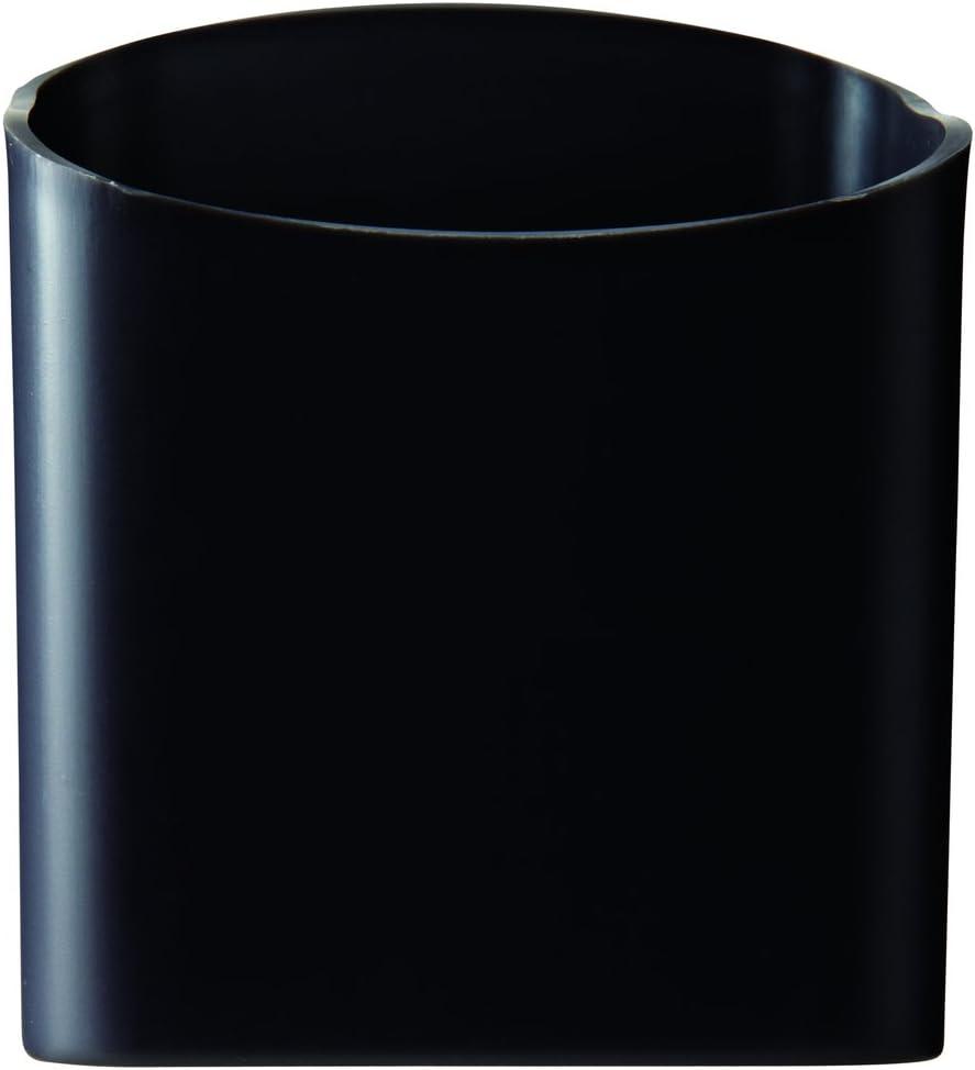 Quartet Magnetic Pen and Pencil Cup Holder, Black (48120-BK)