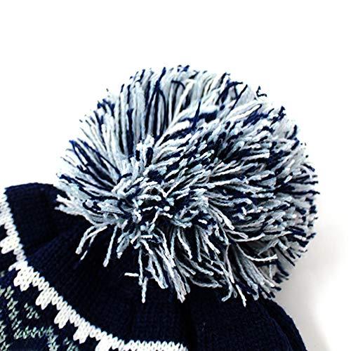 ChoKoLids Football Team City Name Knitted Pom Pom Earflap Winter Hat - 23  Cities (Dallas)