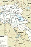 A Map of Modern Armenia: Blank 150 page lined journal for your thoughts, ideas, and inspiration