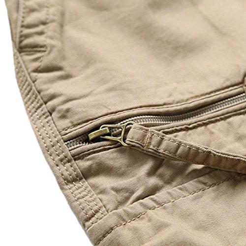 cintura de de de para con Pantalones Adeshop redondos cortos Pantalones m suelta hombre verano Temporada n4Aqxw8zgz