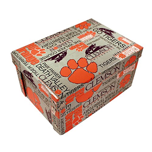 """Forever Crystal NCAA Clemson Tigers Box, 14"""" from Forever Crystal"""