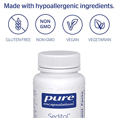 Pure Encapsulations - Seditol - Hypoallergenic Dietary Supplement to Promote Restful Sleep and Relaxation* - 60 Capsules by Pure Encapsulations (Image #3)