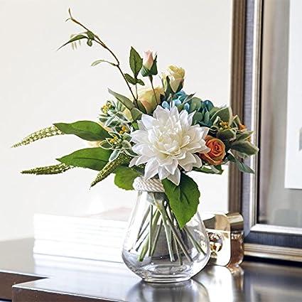 Amazon Mediterranean Style Floral Ornaments Table Decor Vase