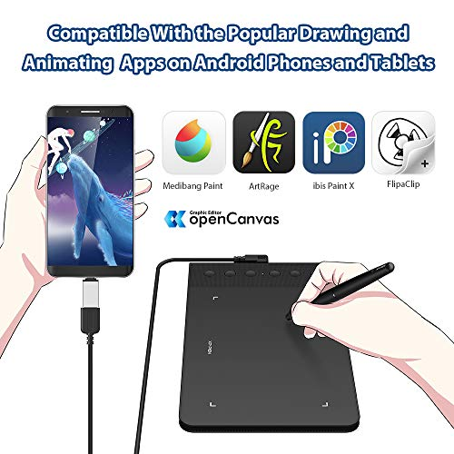 XP-PEN G640S Android Drawing Tablet Graphic Pen Tablet for