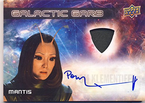 2017 Guardians of the Galaxy Series 2 Trading Card Set Wardrobe Autograph SMA3 Pom Klementieff