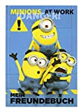 Undercover MNOH0960 - Freundebuch Minions, A5