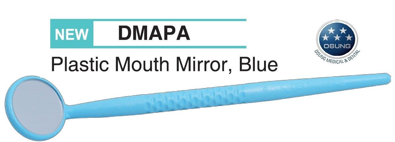 Osung DMAPA Dental Mirror, Fiberglass Handle