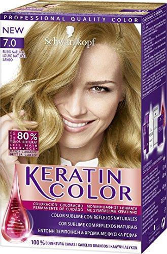 Schwarzkopf KERATIN COLOR Professional Quality Permanent Color Hair Dye Tono 7