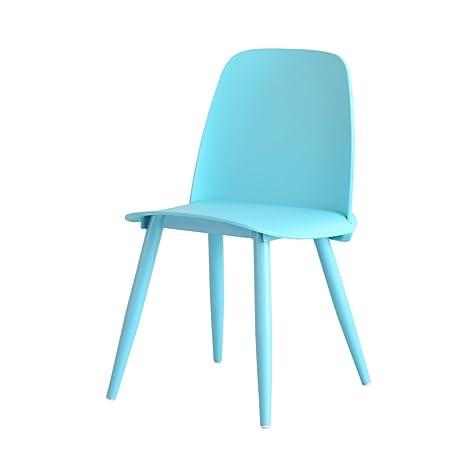 Amazon.com: Silla de comedor ZJM – silla de salón creativa ...