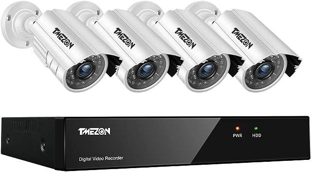 4 X 1080P 2.0MP Camera 1TB HDD Security Kit CCTV System 8CH 1080N AHD DVR