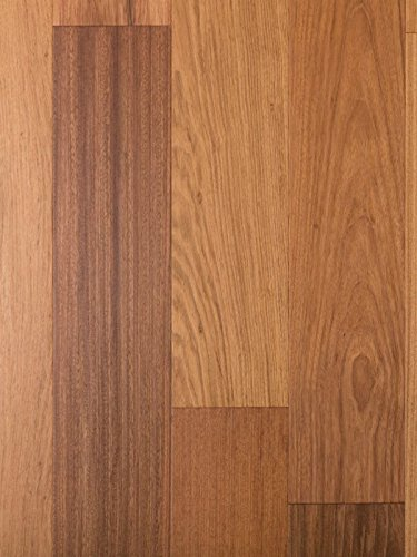 Brazilian Cherry Exotic Wood Flooring | Durable, Strong Wear Layer | Engineered Hardwood | Floor SAMPLE by GoHaus