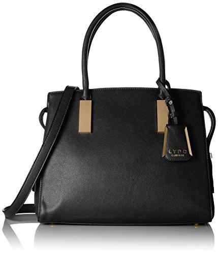 Lydc Lorena, sac à main Noir (Black 001)