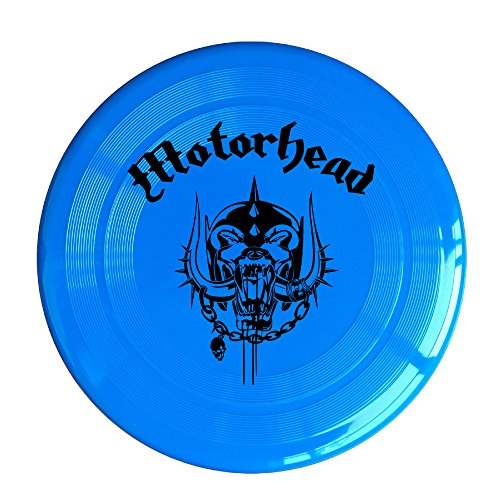 VOLTE Motörhead British Heavy Metal Rock Band Skull Logo RoyalBlue Flying-discs 150 Grams Outdoor Activities Frisbee Star Concert Dog Pet - Class Ray Ban A