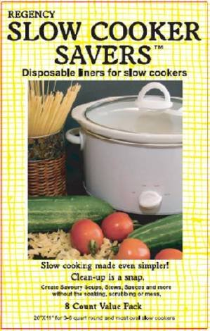 Regency Slow Cooker Savers- Triple Pack Disposable Liners for Slow Cookers (24 total)