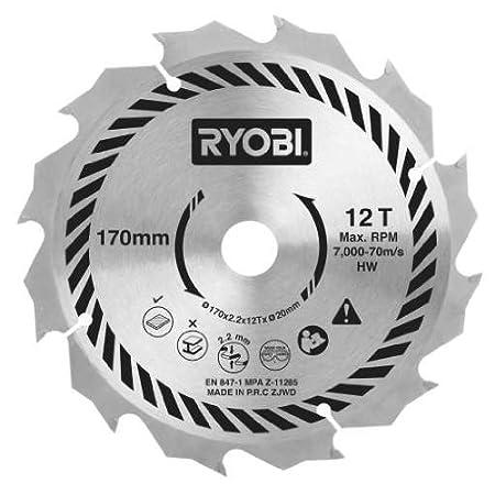 Ryobi csb170a1 circular saw blade for all 170 x 20 mm circular ryobi csb170a1 circular saw blade for all 170 x 20 mm circular saws 170 mm keyboard keysfo Images
