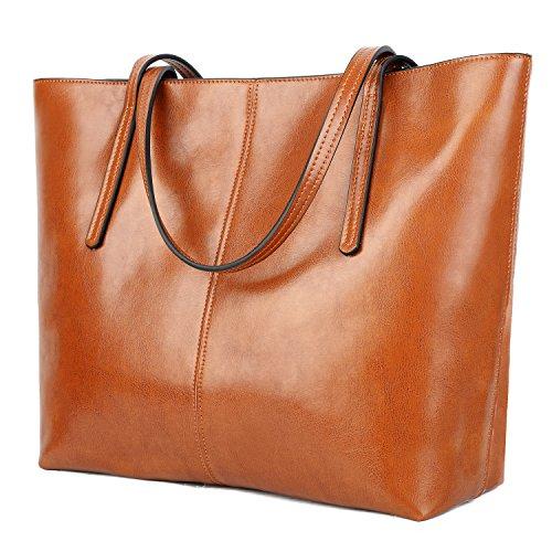 Brown Shopper Tote - 2