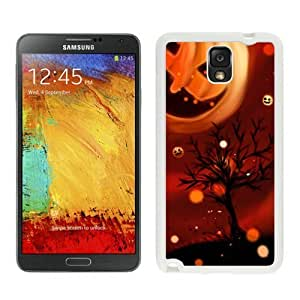 Personalized Cool Pumpkin Halloween White Samsung Galaxy Note 3 Case 1