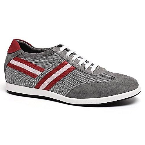 Man für Elevator Sneaker Bunte H62305K051D Casual Schuhe CHAMARIPA 6cm Gris 36 2 Taller wfqXYZn