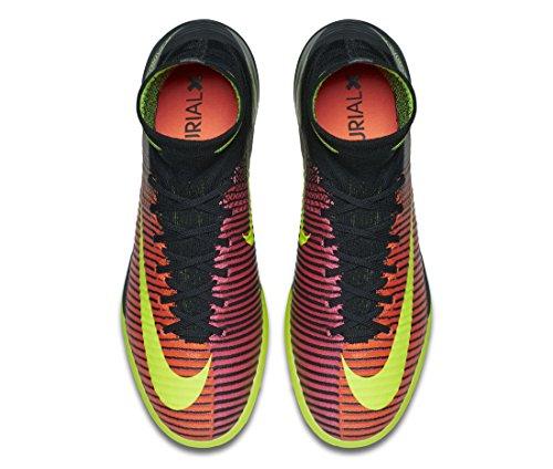 Nike Mercurialx Proximo Ii Tf, Botas de Fútbol para Hombre Naranja (Total Crimson / Vlt-Pnk Blst-Blk)