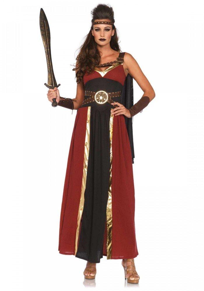 Shoperama Majestätische Kriegerin Damen Kostüm mit Umhang von Leg Avenue GoT LARP Mittelalter, Größe XL XXL B06X3R6D55 Kostüme für Erwachsene Neuheit    Treten Sie ein in die Welt der Spielzeuge und finden Sie eine Quelle des Glücks