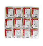 """Ever Ready First Aid Triangular Bandage, 40"""" x 40"""" x 56"""", 12 Count- 100% Cotton"""