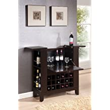 ACME 97010 Nelson Wine Bar, Wenge Finish