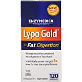 Enzymedica, Lypo Gold, For Fat Digestion, 120 Capsules - 3PC
