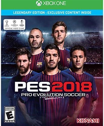 PES 2018 Pro Evolution Soccer Legendary Edition Xbox One プロ進化サッカー伝説版 北米英語版 [並行輸入品]