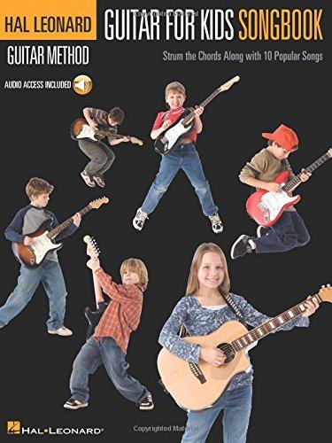 Guitar For Kids Songbook - Hal Leonard Guitar Method (Bk/online Audio)
