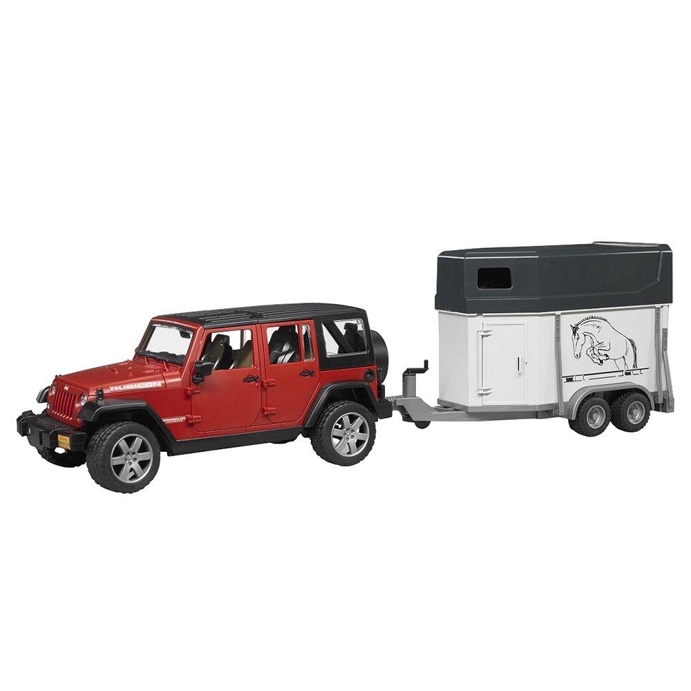 Jeep Wrangler 2926  Unlimited Rubicon - Vehículo con remolque equino