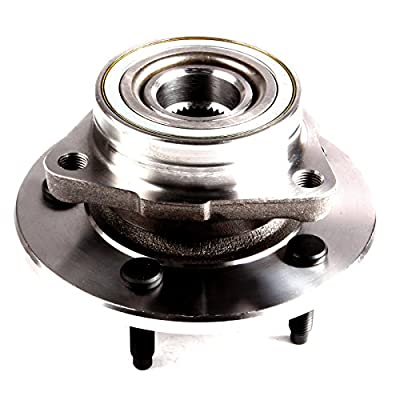 OCPTY NEW Wheel Hub Bearings Front 5 LUGS Replacement fit for 1997-2000 fit for Ford F-150 4x4 4WD Compatible with OE 515017 (Pack of 2): Automotive