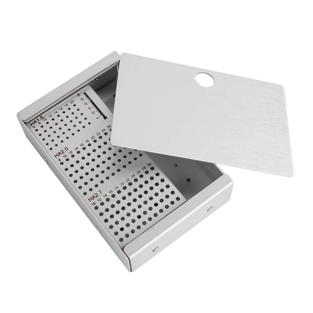 one Screws Case,Fencia Rack HA1.5mm 2.0mm 2.7mm Veterinary Orthopedics Instruments by Fencia