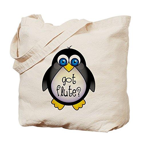 CafePress–Cute Got Flute–Borsa di tela naturale, panno borsa per la spesa