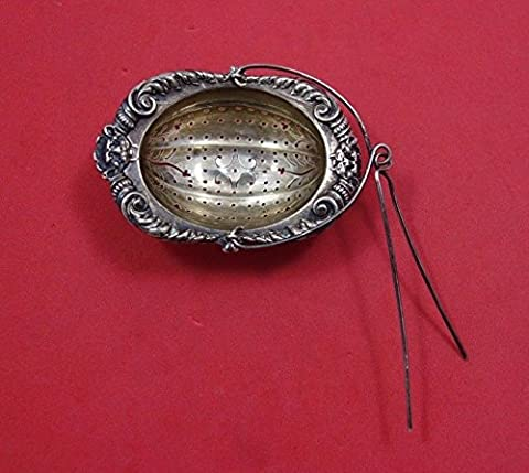 Baronial Old by Gorham Sterling Silver Tea Strainer w/Pin GW #B481 3
