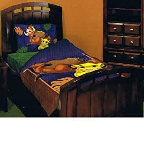 Amazon Com Disney Lion King Twin Bedding Set Home Amp Kitchen